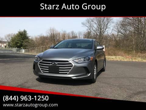 2017 Hyundai Elantra for sale at Starz Auto Group in Delran NJ