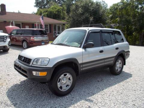 1998 Toyota RAV4 for sale at Carolina Auto Connection & Motorsports in Spartanburg SC