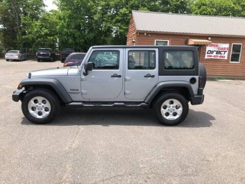 2016 Jeep Wrangler Unlimited for sale at Super Cars Direct in Kernersville NC