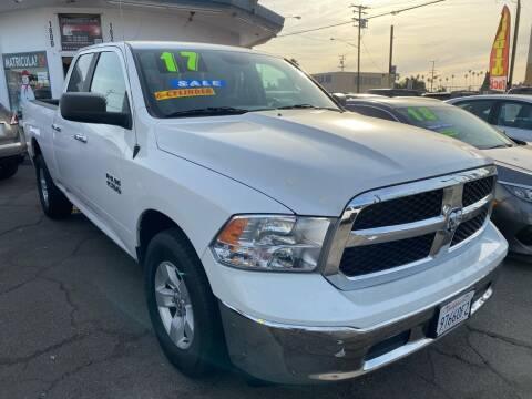 2017 RAM Ram Pickup 1500 for sale at CAR GENERATION CENTER, INC. in Los Angeles CA