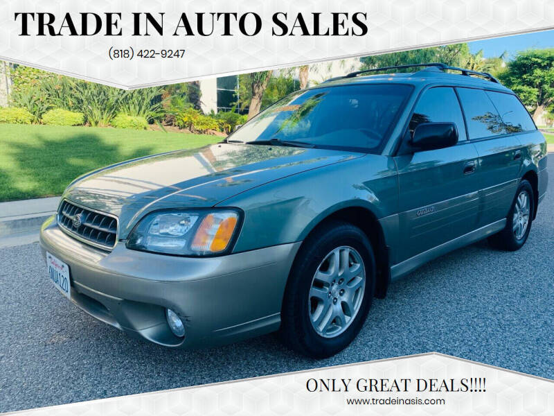 2004 Subaru Outback for sale at Trade In Auto Sales in Van Nuys CA