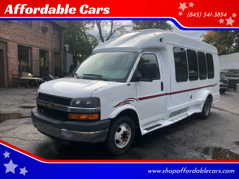 2010 Chevrolet Express Cutaway for sale at Affordable Cars in Kingston NY