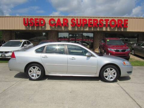 2012 Chevrolet Impala for sale at Checkered Flag Auto Sales NORTH in Lakeland FL