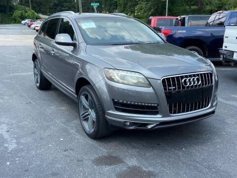 2012 Audi Q7 for sale at Luxury Auto Innovations in Flowery Branch GA