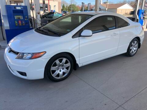 2007 Honda Civic for sale at JE Auto Sales LLC in Indianapolis IN