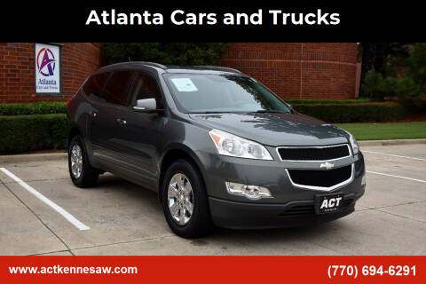 2011 Chevrolet Traverse for sale at Atlanta Cars and Trucks in Kennesaw GA