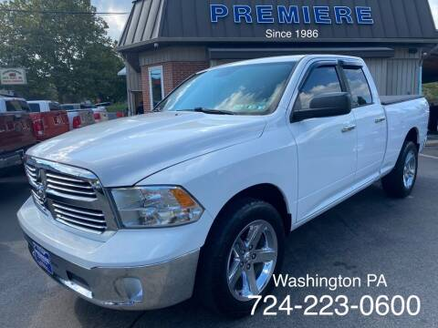 2014 RAM Ram Pickup 1500 for sale at Premiere Auto Sales in Washington PA