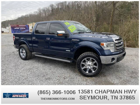 2013 Ford F-150 for sale at Union Motors in Seymour TN