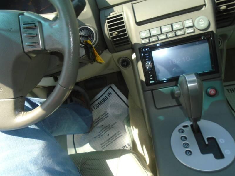 2003 Infiniti G35 Luxury 4dr Sedan w/Leather - Houston TX
