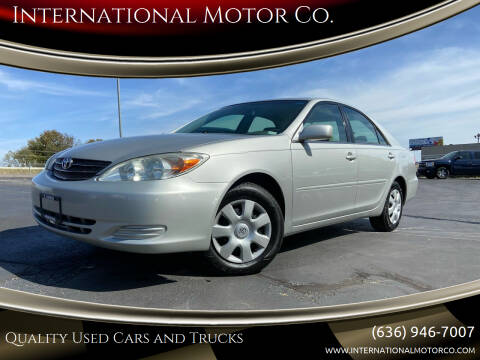 2003 Toyota Camry for sale at International Motor Co. in St. Charles MO