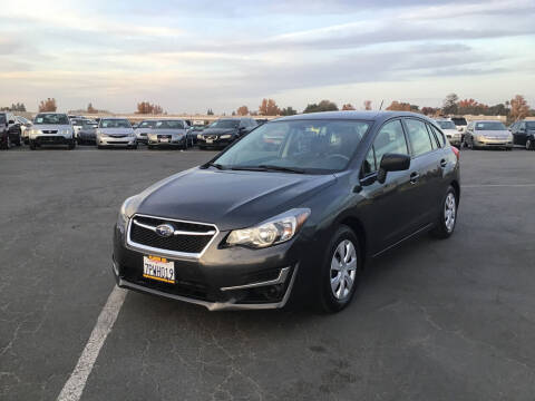 2016 Subaru Impreza for sale at My Three Sons Auto Sales in Sacramento CA