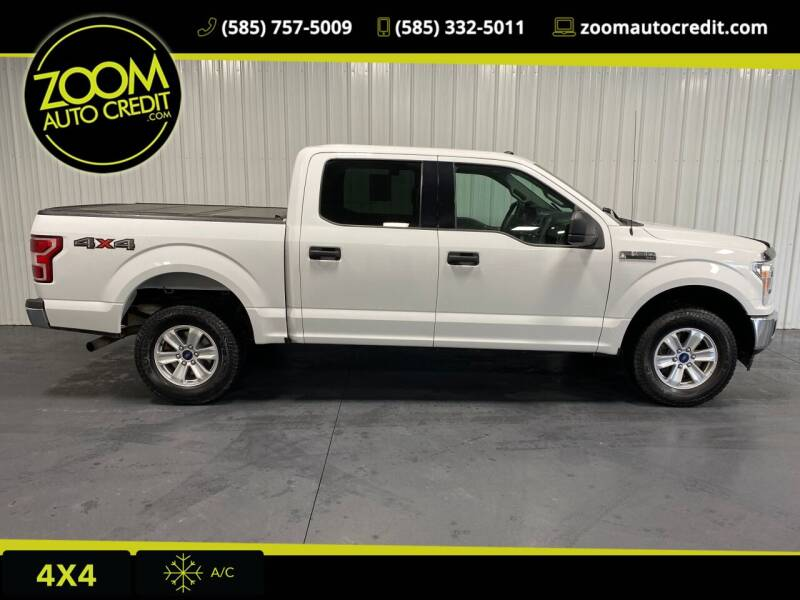 2018 Ford F-150 for sale at ZoomAutoCredit.com in Elba NY