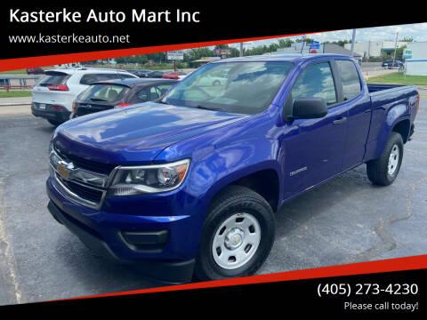 2017 Chevrolet Colorado for sale at Kasterke Auto Mart Inc in Shawnee OK