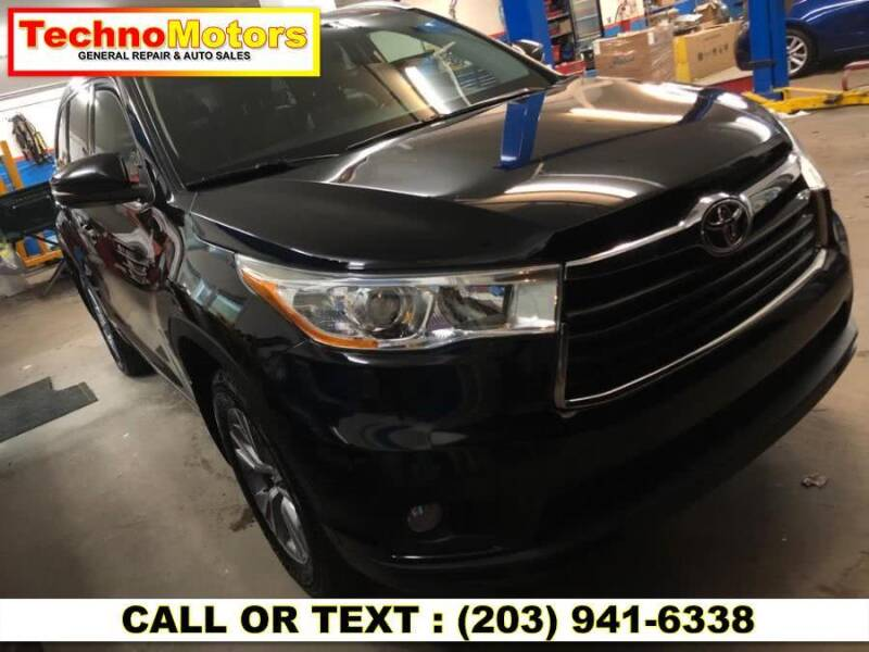 2014 Toyota Highlander for sale at Techno Motors in Danbury CT