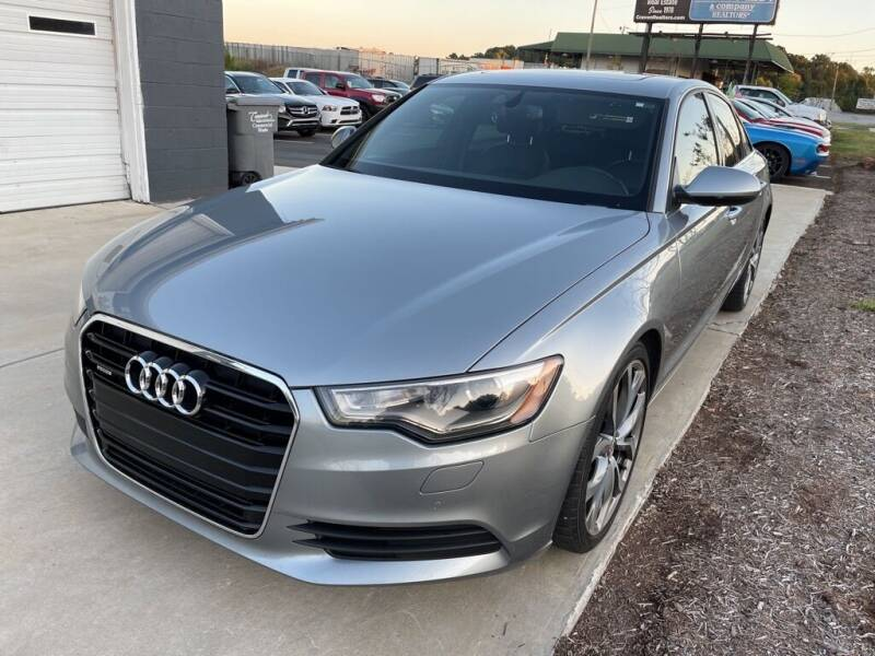 2015 Audi A6 for sale at NATIONAL CAR AND TRUCK SALES LLC - National Car and Truck Sales in Concord NC