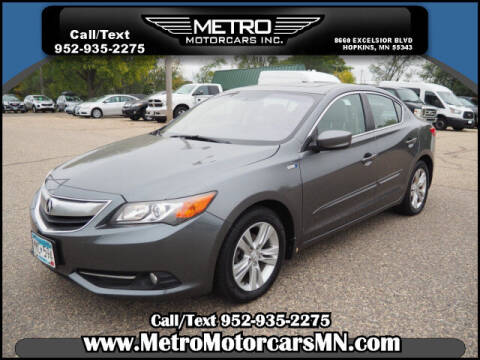 2013 Acura ILX for sale at Metro Motorcars Inc in Hopkins MN