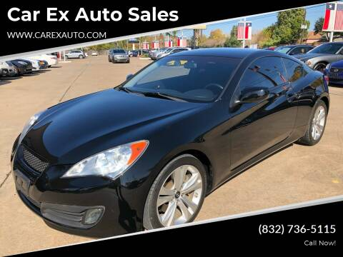 2010 Hyundai Genesis Coupe for sale at Car Ex Auto Sales in Houston TX