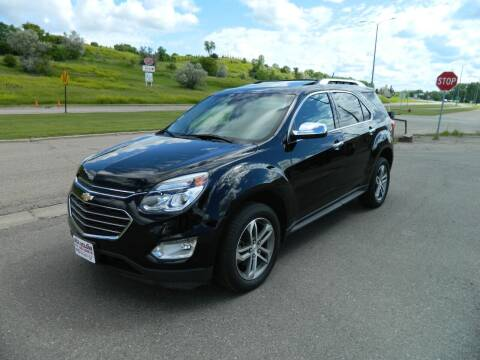 2016 Chevrolet Equinox for sale at Dick Nelson Sales & Leasing in Valley City ND