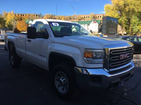 2015 GMC Sierra 3500HD for sale at 4X4 Auto Sales in Durango CO