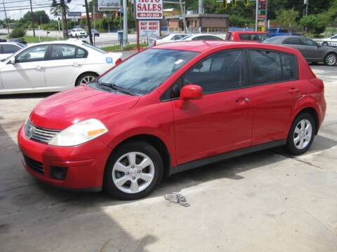 2008 Nissan Versa for sale at LAKE CITY AUTO SALES in Forest Park GA