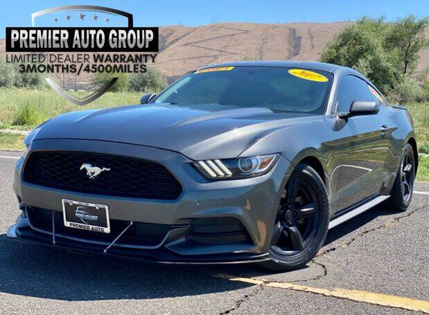 2017 Ford Mustang for sale at Premier Auto Group in Union Gap WA
