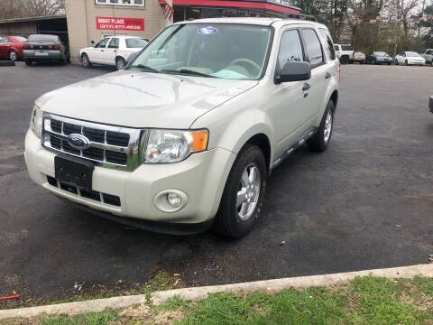 2009 Ford Escape for sale at Right Place Auto Sales in Indianapolis IN