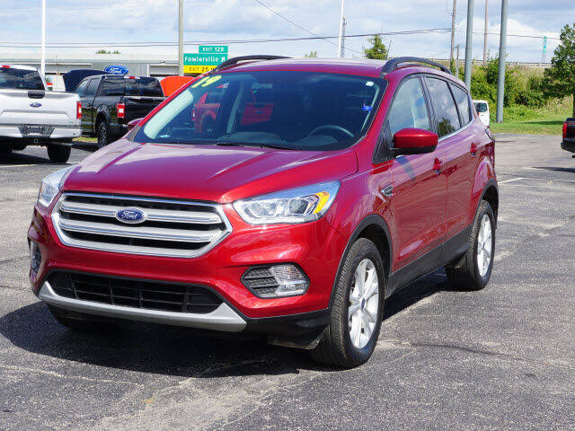 2019 Ford Escape for sale at FOWLERVILLE FORD in Fowlerville MI