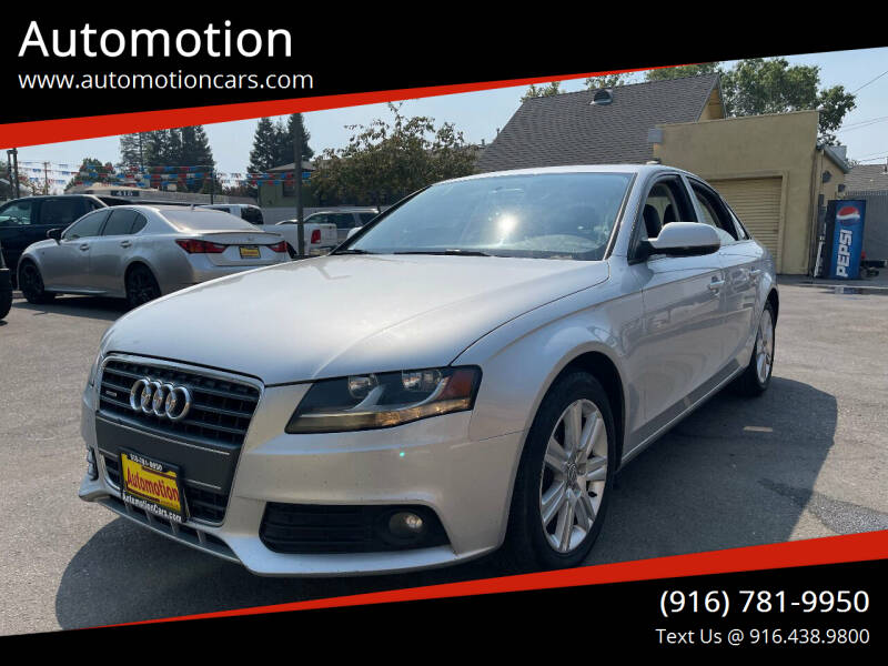 2011 Audi A4 for sale at Automotion in Roseville CA