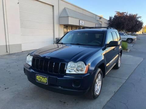 2005 Jeep Grand Cherokee for sale at APOLLO AUTO SALES in Sacramento CA