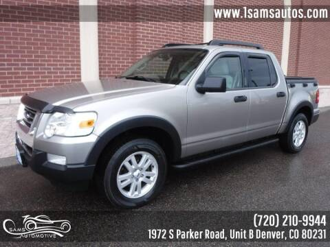 2008 Ford Explorer Sport Trac for sale at SAM'S AUTOMOTIVE in Denver CO