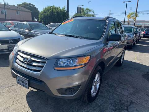 2011 Hyundai Santa Fe for sale at Westcoast Auto Wholesale in Los Angeles CA