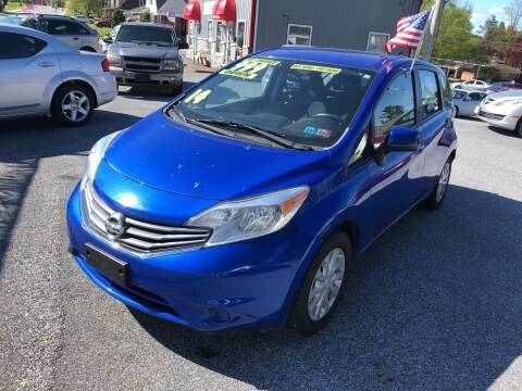 2014 Nissan Versa Note for sale at McNamara Auto Sales - Red Lion Lot in Red Lion PA