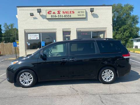 2012 Toyota Sienna for sale at C & S SALES in Belton MO