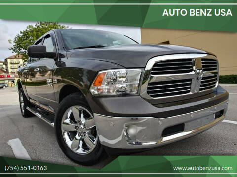 2014 RAM Ram Pickup 1500 for sale at AUTO BENZ USA in Fort Lauderdale FL