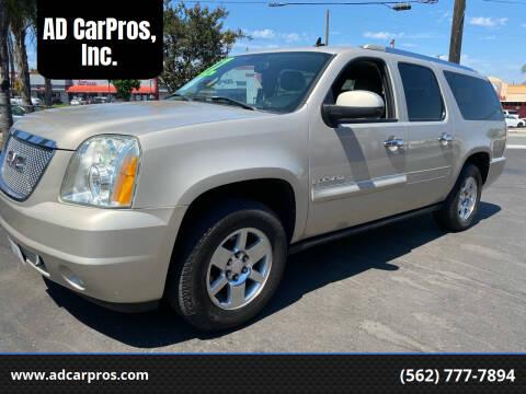 2007 GMC Yukon XL for sale at AD CarPros, Inc. in Whittier CA