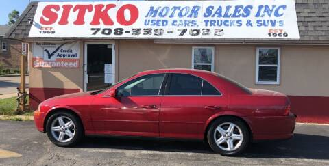 2002 Lincoln LS for sale at SITKO MOTOR SALES INC in Cedar Lake IN