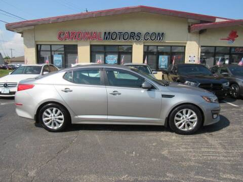 2014 Kia Optima for sale at Cardinal Motors in Fairfield OH