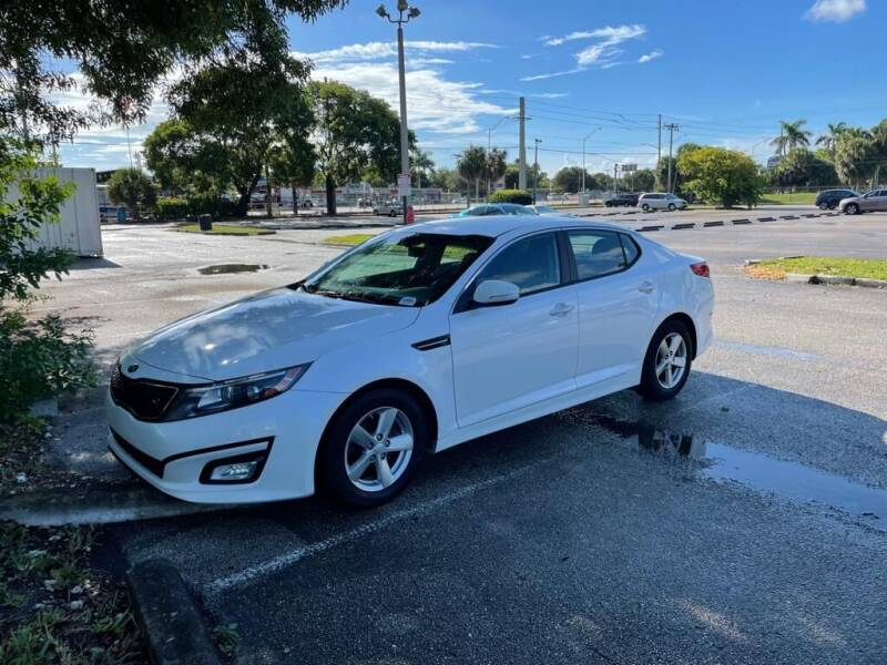 2015 Kia Optima for sale at YID Auto Sales in Hollywood FL