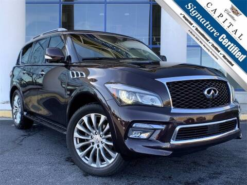 2016 Infiniti QX80 for sale at Southern Auto Solutions - Georgia Car Finder - Southern Auto Solutions - Capital Cadillac in Marietta GA