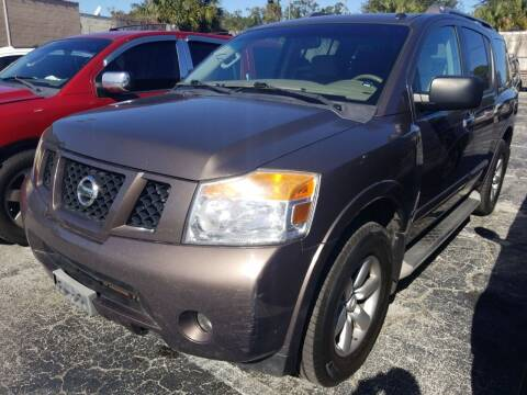 2013 Nissan Armada for sale at Castle Used Cars in Jacksonville FL