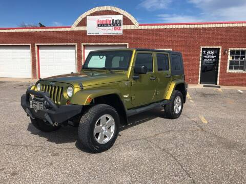 2008 Jeep Wrangler Unlimited for sale at Family Auto Finance OKC LLC in Oklahoma City OK