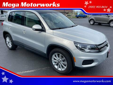 2014 Volkswagen Tiguan for sale at Mega Motorworks in Appleton WI