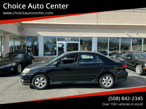2004 Toyota Corolla for sale at Choice Auto Center in Shrewsbury MA