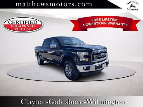 2016 Ford F-150 for sale at Auto Finance of Raleigh in Raleigh NC