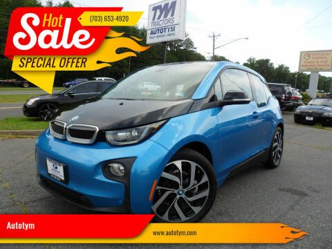 2017 BMW i3 for sale at AUTOTYM INC in Fredericksburg VA