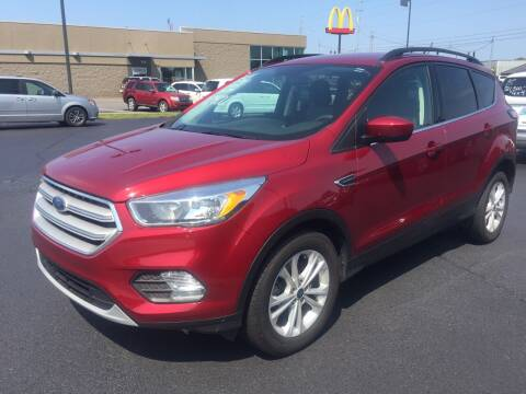 2018 Ford Escape for sale at McCully's Automotive - Trucks & SUV's in Benton KY