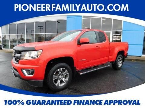 2017 Chevrolet Colorado for sale at Pioneer Family auto in Marietta OH