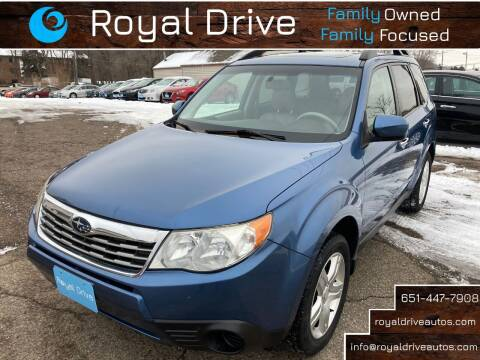 2010 Subaru Forester for sale at Royal Drive in Newport MN