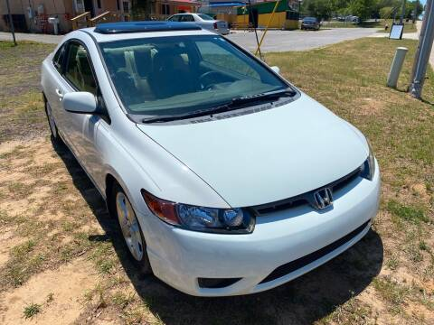 2008 Honda Civic for sale at Nash's Auto Sales Used Car Dealer in Milton FL