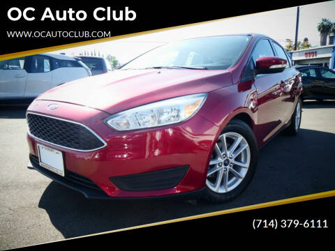 2017 Ford Focus for sale at OC Auto Club in Midway City CA